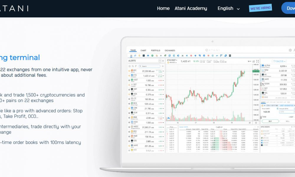 Atani: One Trading Platform for 20+ crypto exchanges!