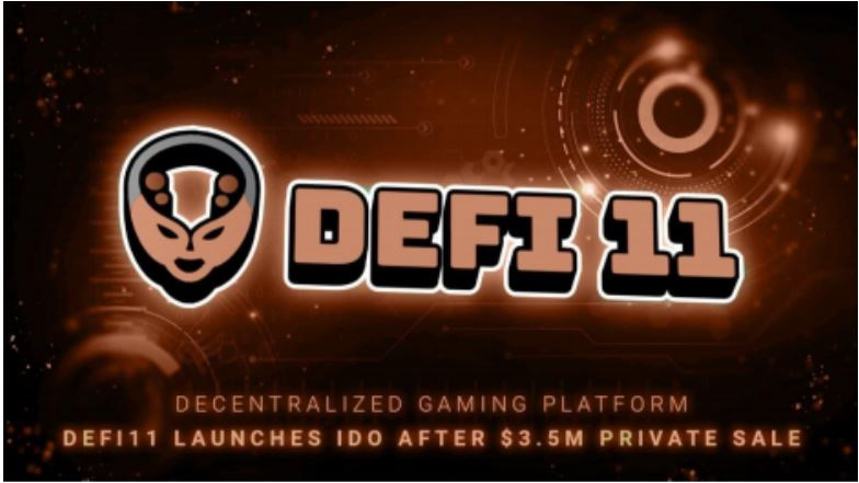 Decentralized gaming platform DeFi11 launches IDO after $3.5M private sale - AMBCrypto